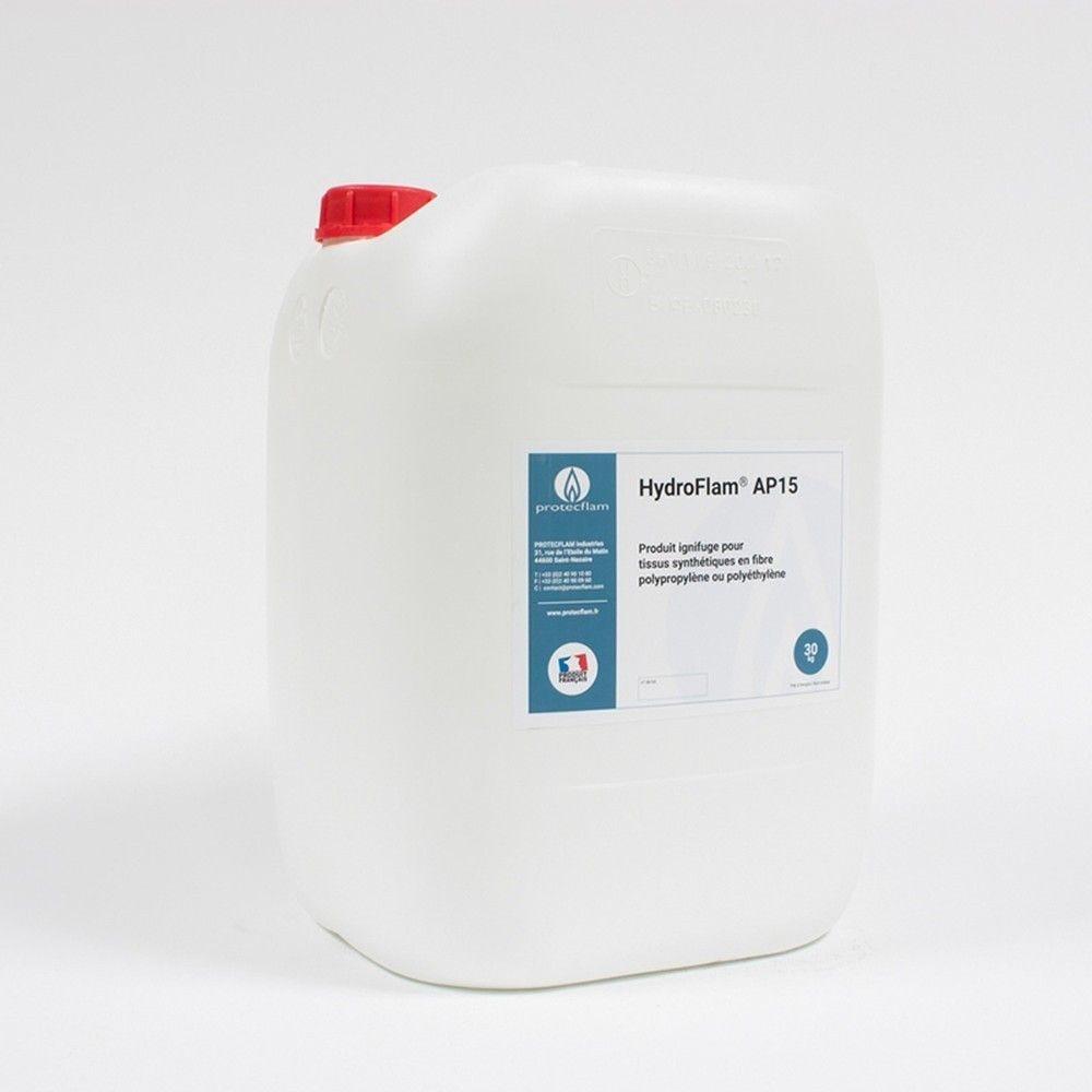 Hydroflam® AP15 - Solution ignifuge pour tissus synthétiques - 30 Kg