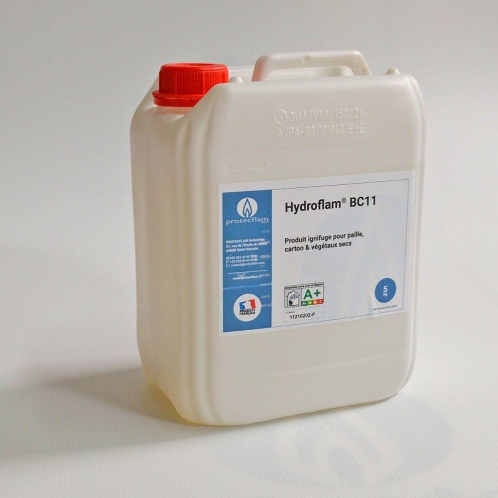 Hydroflam® BC11 - Solution ignifuge pour Carton et Végétaux secs - 5 kg