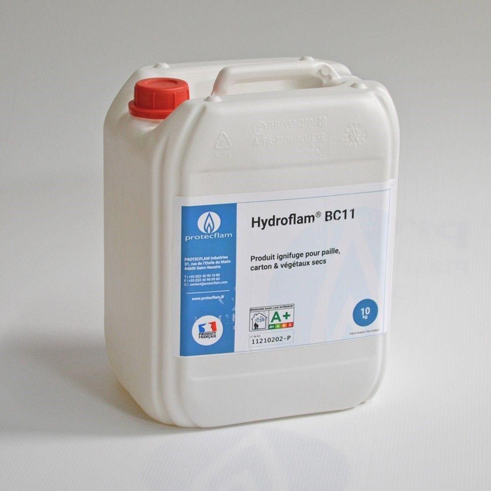 Hydroflam® BC11 - Solution ignifuge pour Carton et Végétaux secs - 10 kg