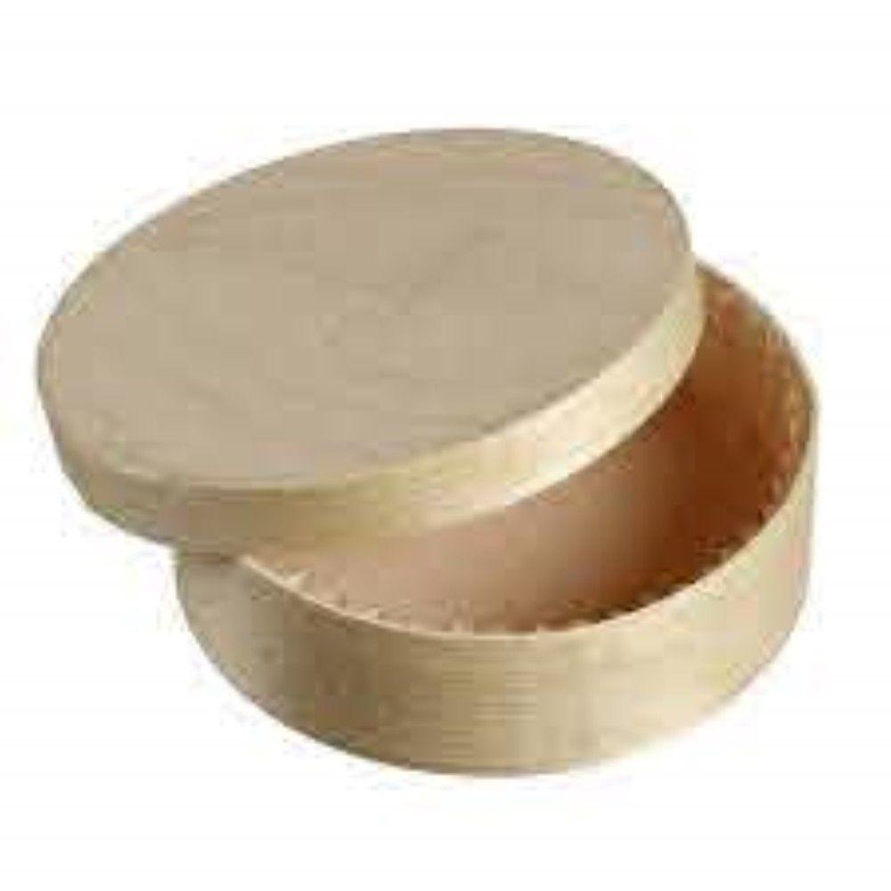 Boite Normande cylindre caissette bois ronde - par 50