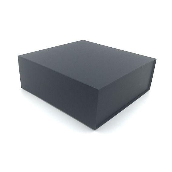 Boite cadeau aimantée arcobaleno 44x30x12 noir par 10