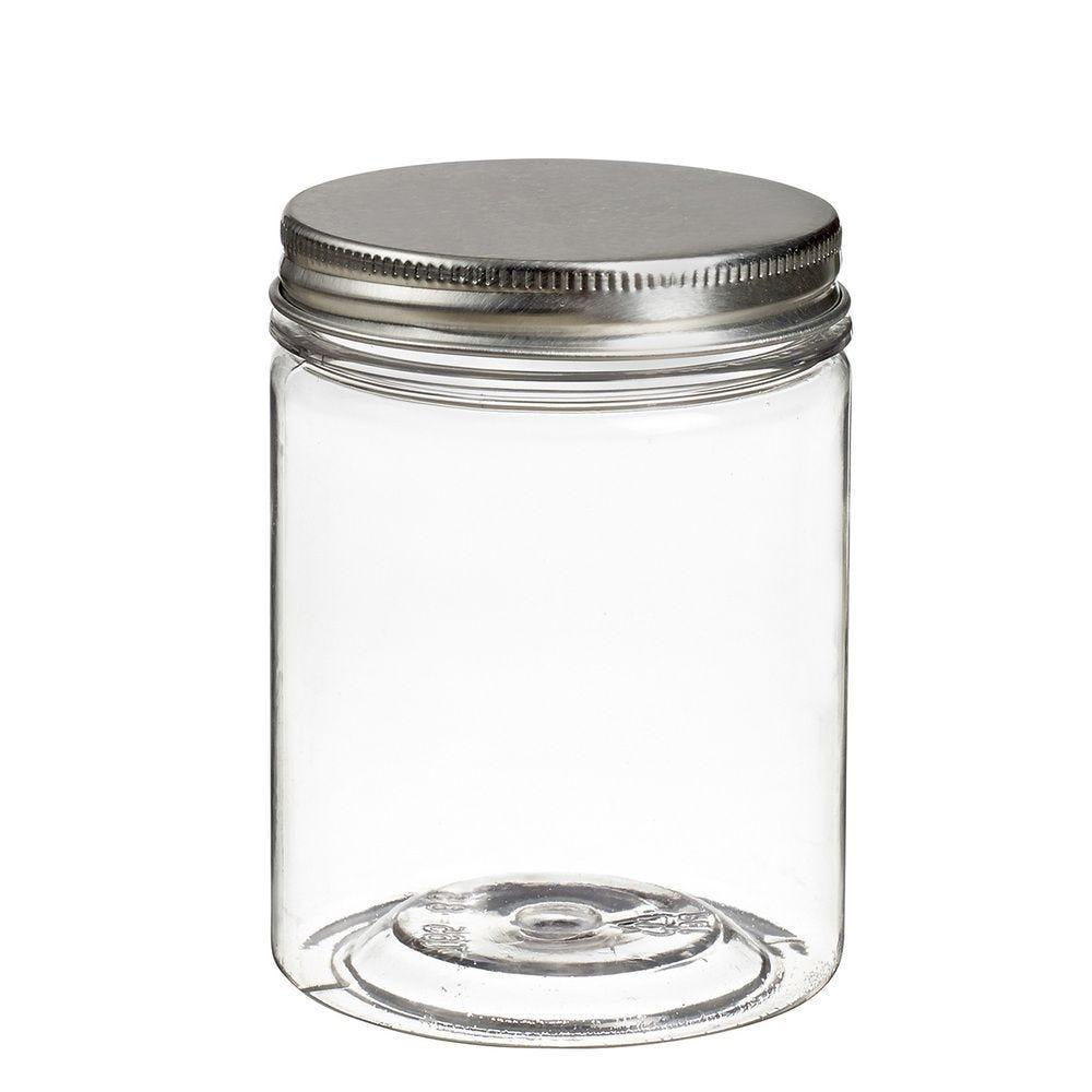 Pot à vis Tornillo transparent 210 ml + couvercle alu - par 120
