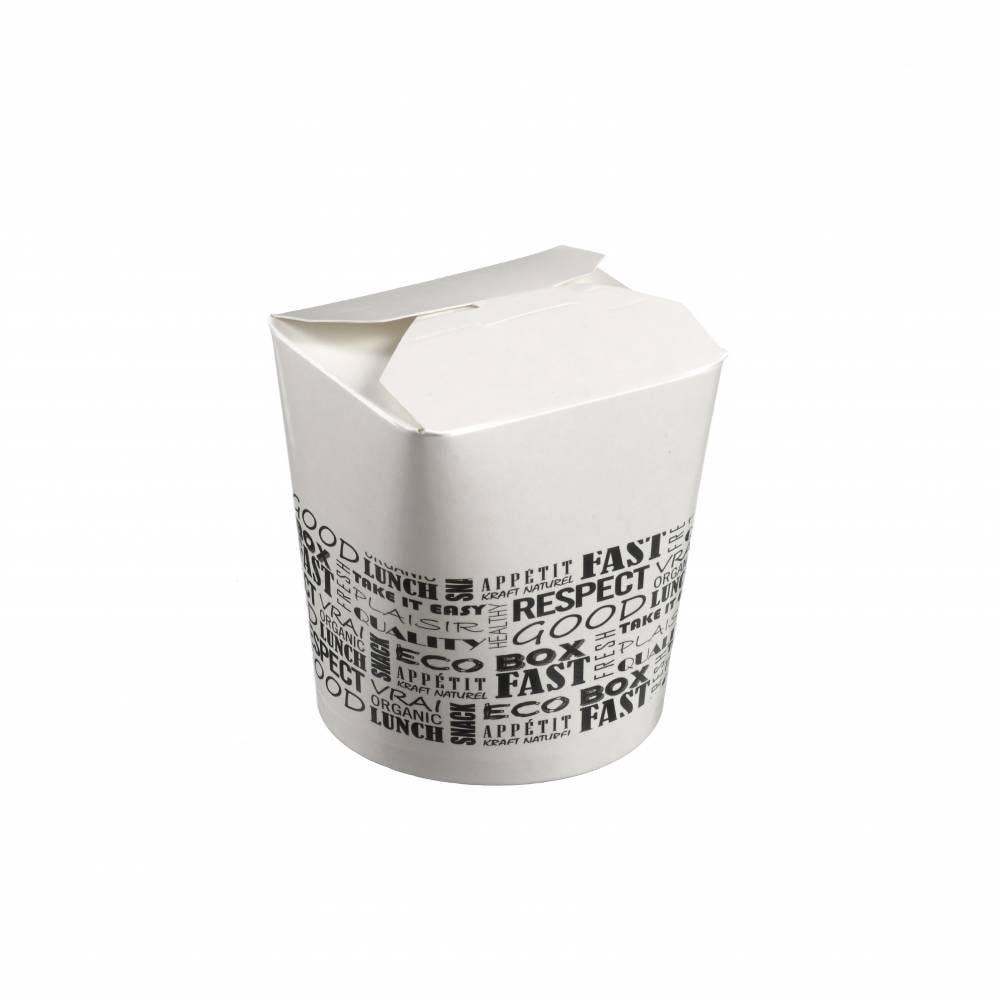 Boite à pates carton 500 ml District - par 1000