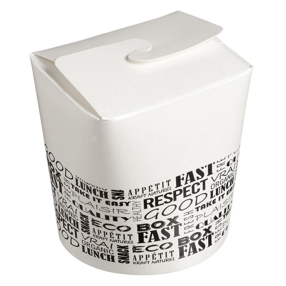 Boite à pates carton 800 ml District - par 500