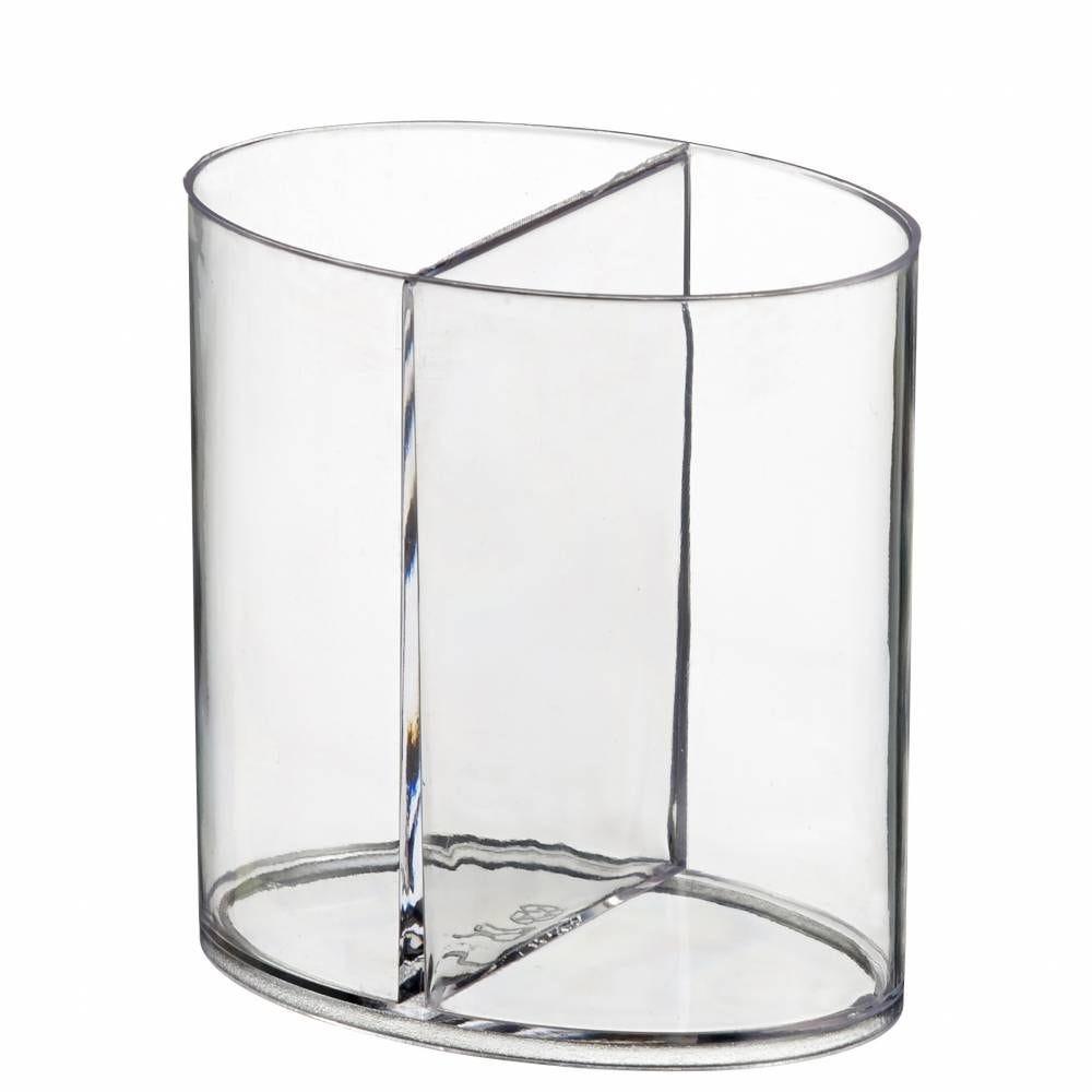 Ellipse 2 compartiments transparent - par 200