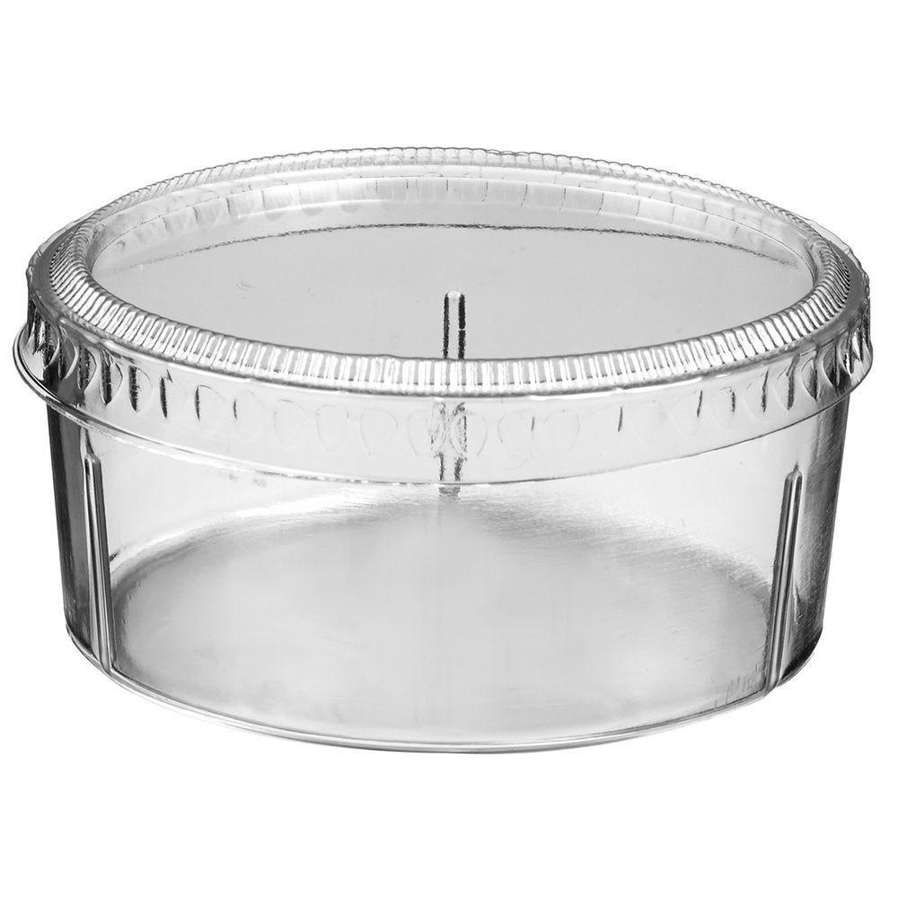 Bodega bas transparent 120 ml - par 200