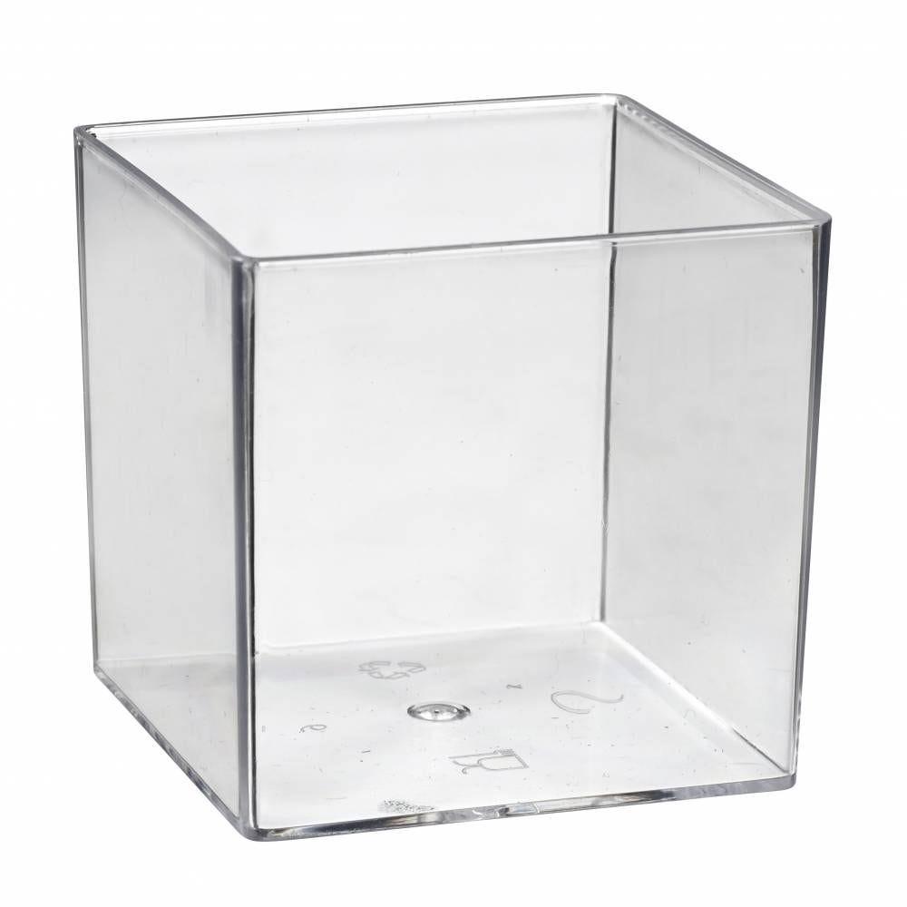 Cub' transparent cristal - par 200