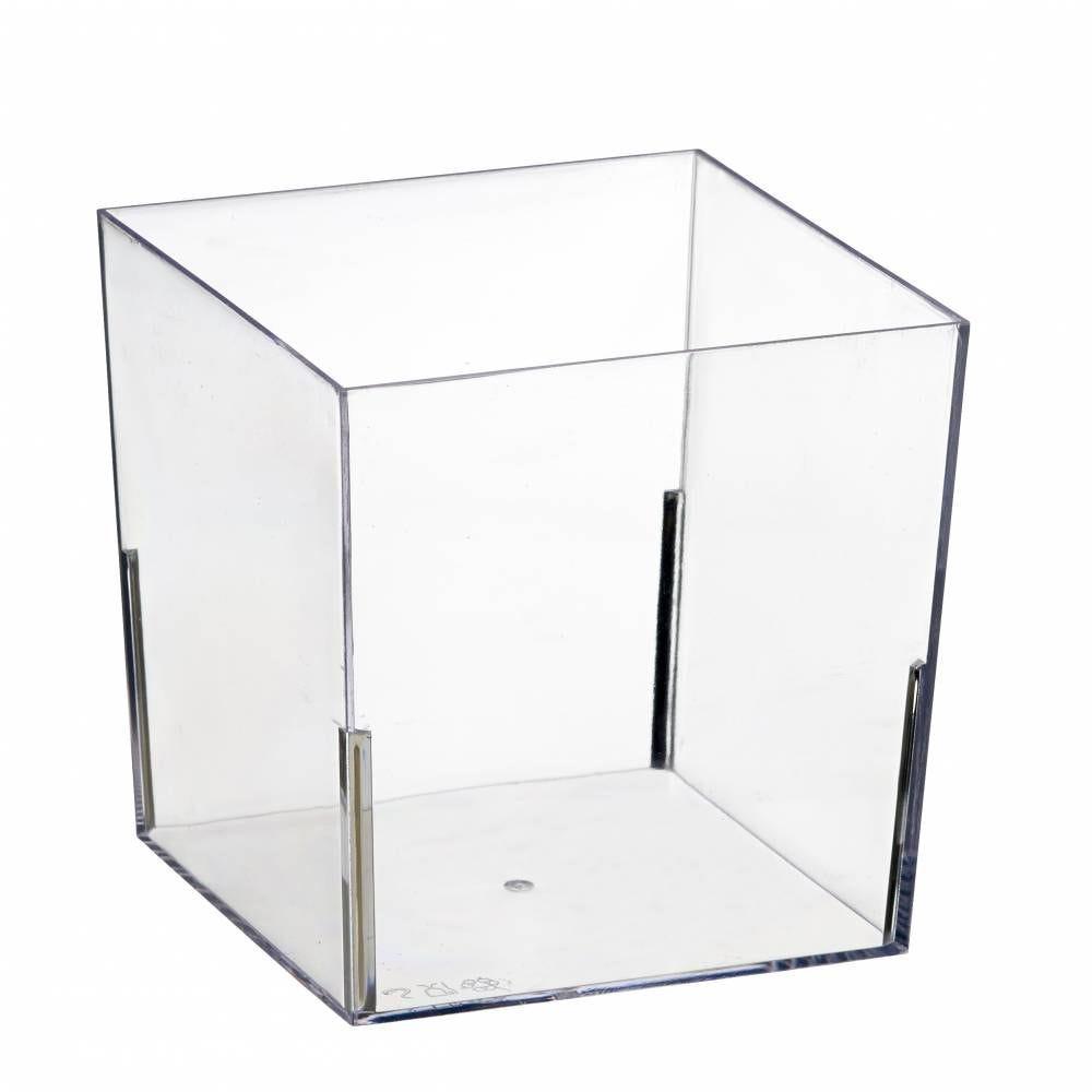 Saladier Cub' transparent 820 ml - par 100