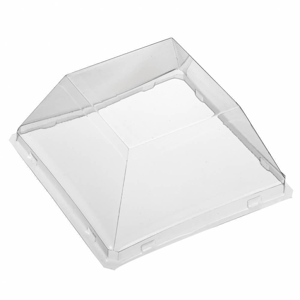 Couvercle haut pour assiette Quartz 100x100 mm - par 200