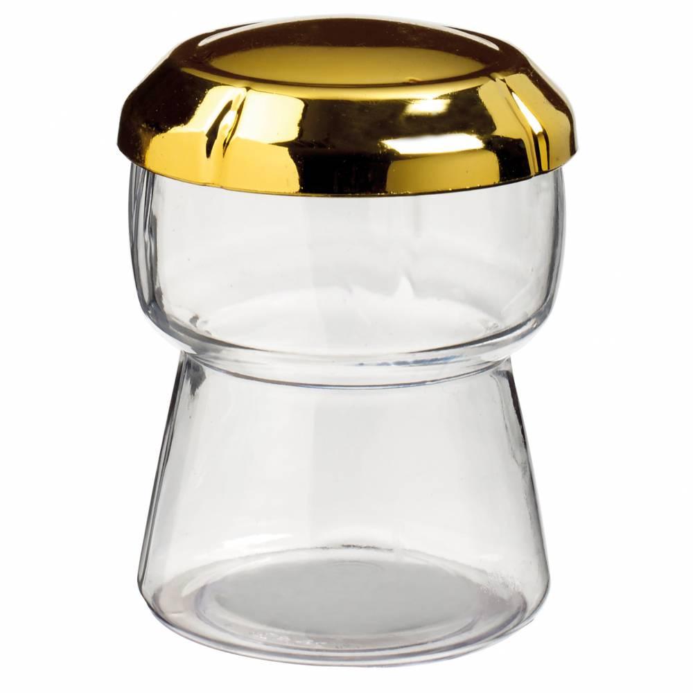 Bouchon de Champagne 150 ml + couvercle doré métallisé par 24 - par 120