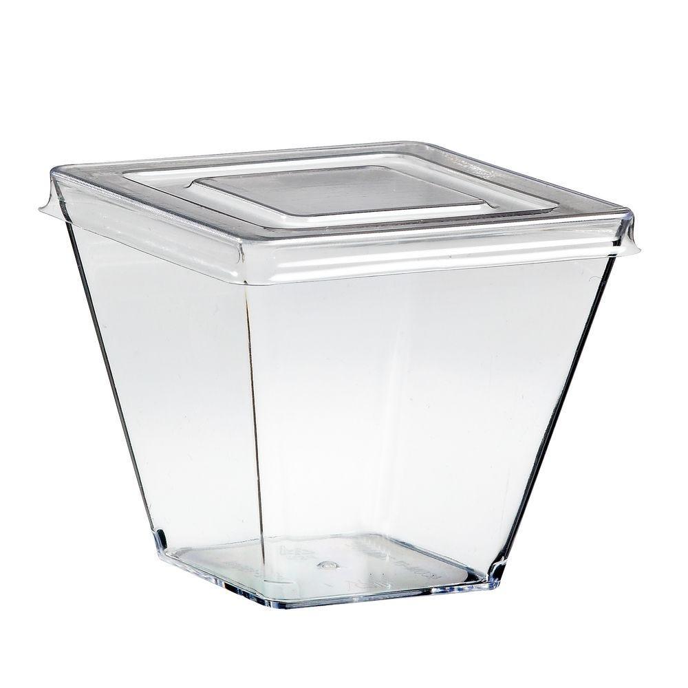Emeraude 155 ml transparente + couvercle par 100 C&C ECOLIA - par 600