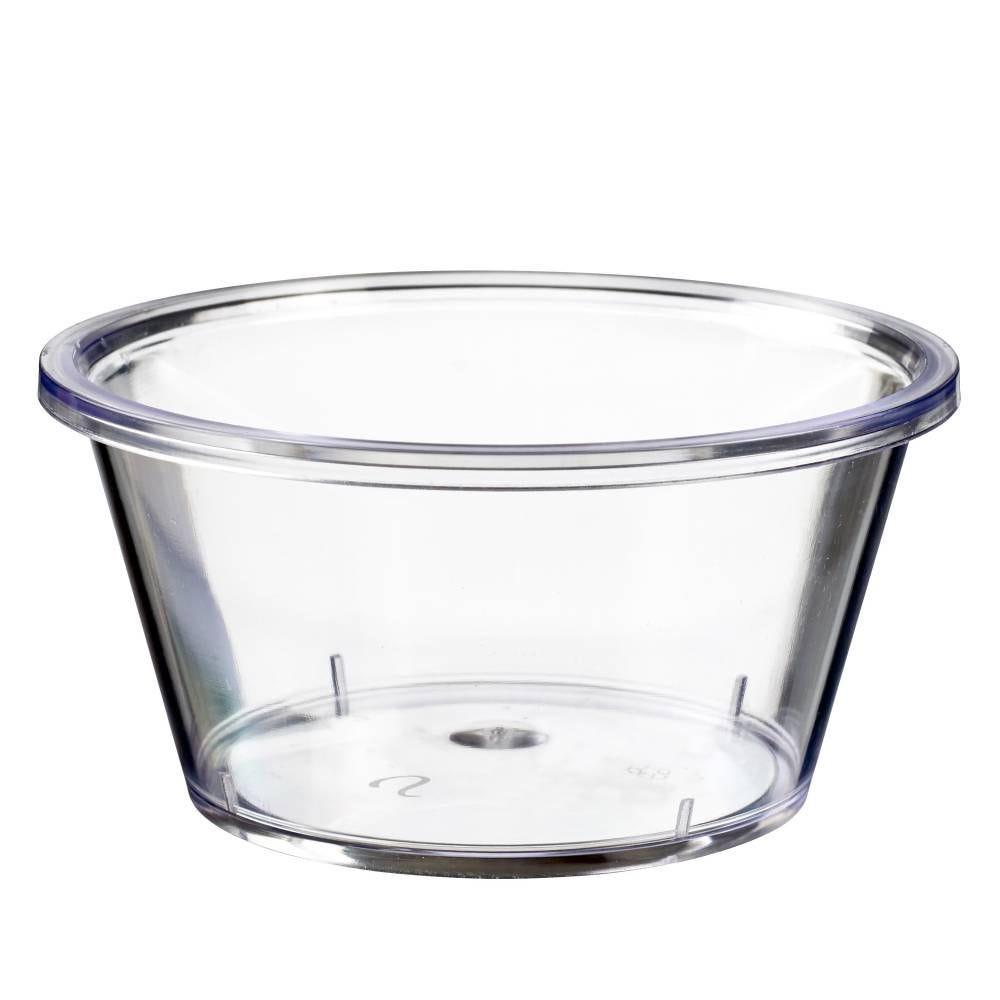 Pot Authentik 250 ml transparent PS - par 150