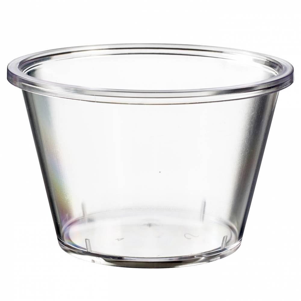 Pot Authentik 330 ml transparent SAN - par 150