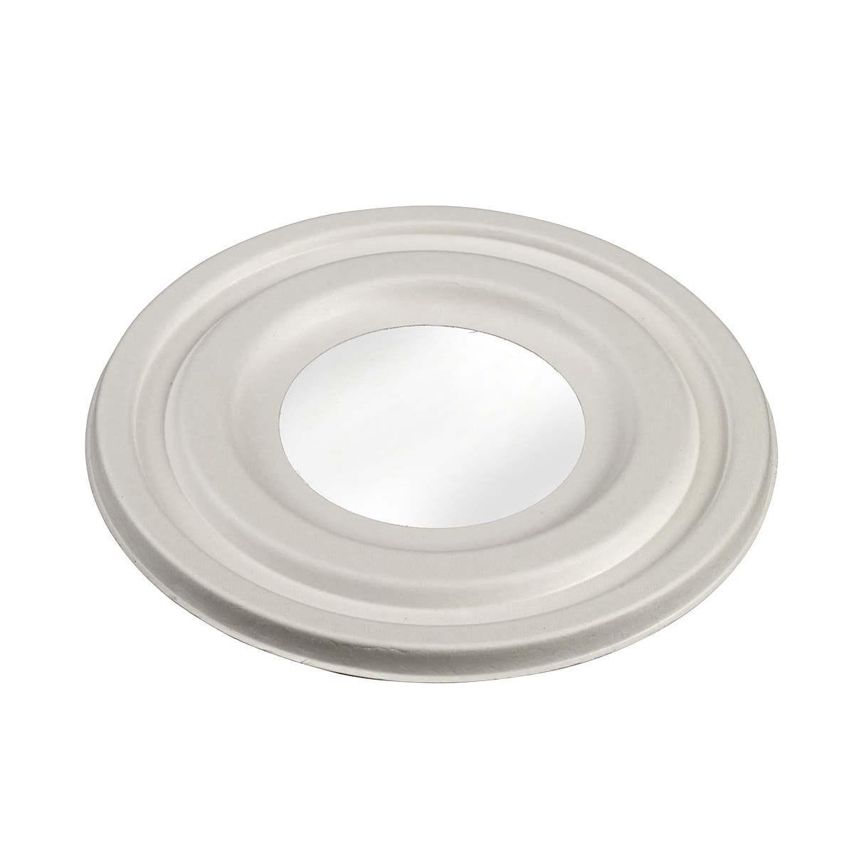 Couvercle en pulpe avec fenêtre pour Saladier Ming 1000 ml - par 400