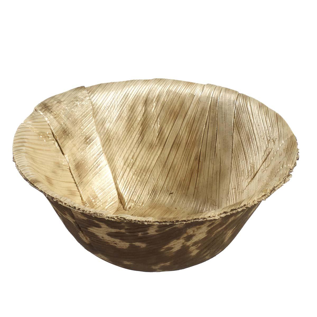 Bol feuille bambou thermoformé Ø 75 mm par 50 - par 1000
