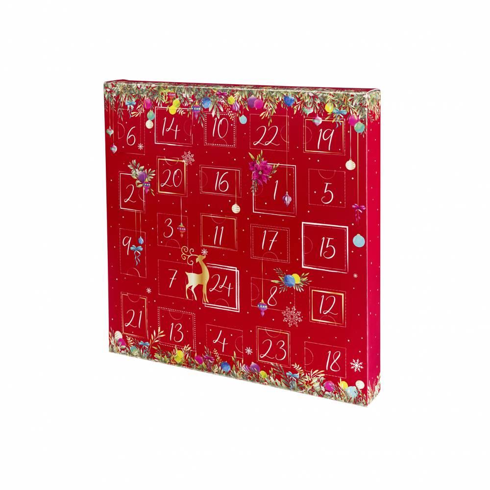 Calendrier de l'avent CHRISTMAS 28,8 x 3,5 x 28,7 cm - Par 25