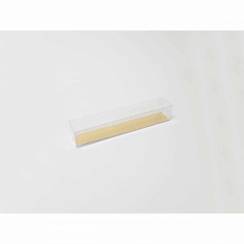 Réglette transparente 17,9 x 3 x 3 cm - Par 25