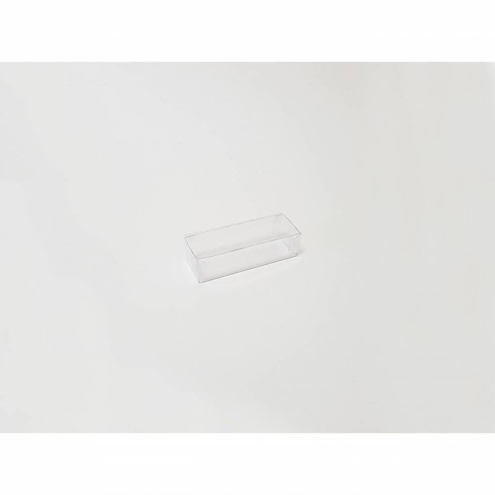Réglette transparente 9 x 3 x 2,5 cm - Par 25