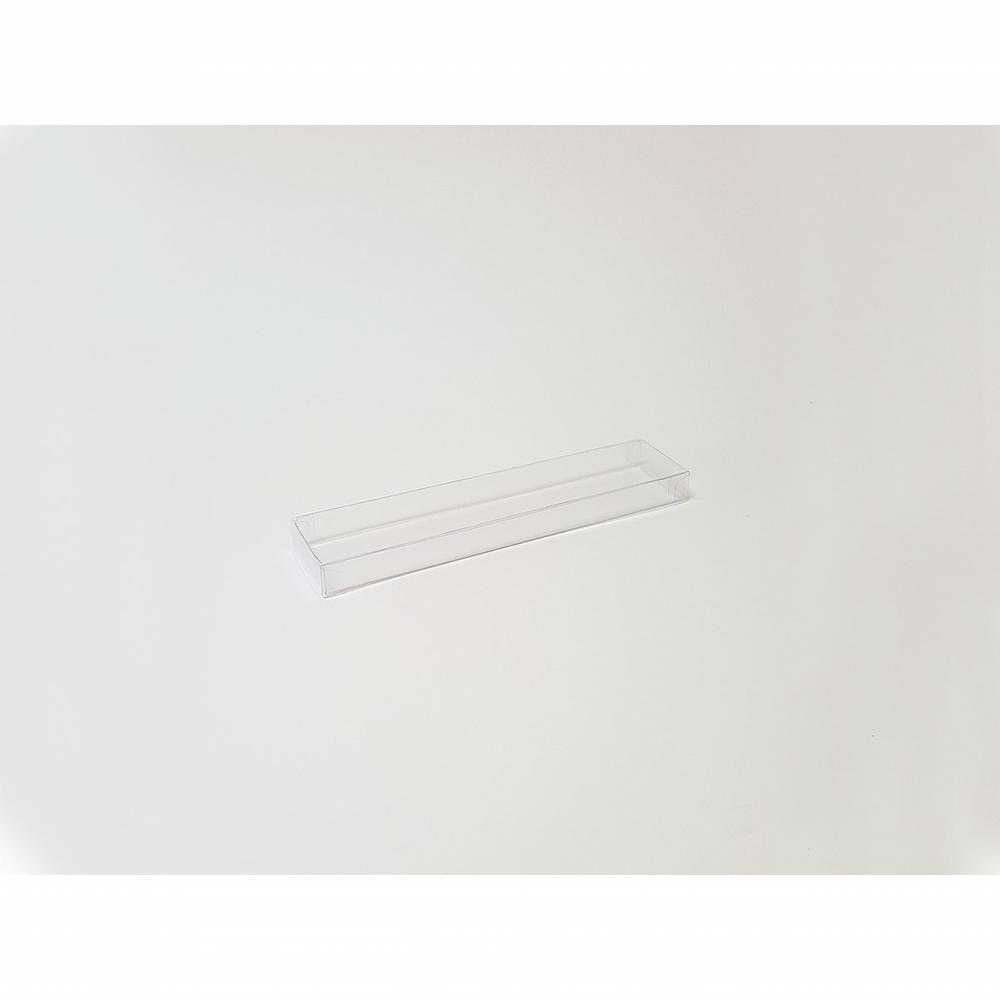 Réglette transparente 18,7 x 4 , 1,5 cm - Par 25