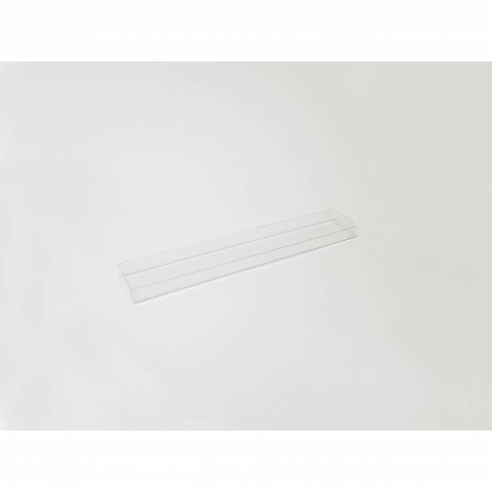 Réglette transparente 25 x 4 x 1,5 cm - Par 25