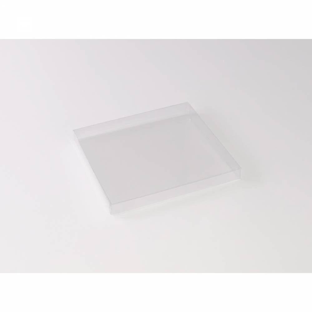 Boîte carrée transparente 15 x 15 x 1,5 cm - Par 25
