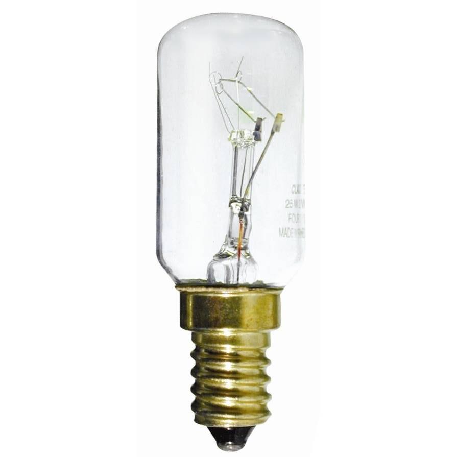 Ampoule tubulaire claire 25W E14