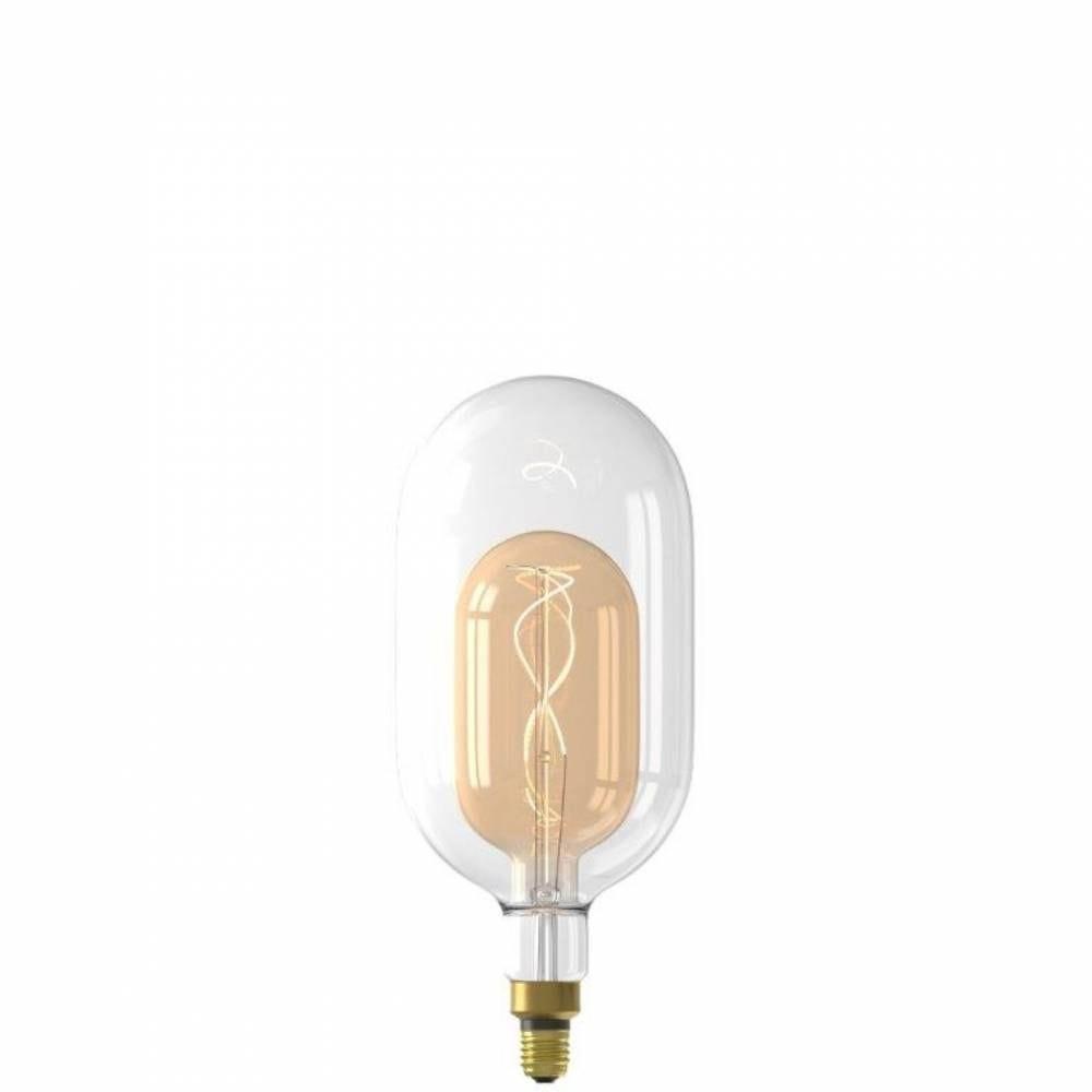 Ampoule décorative fusion led sundsvall filament e27 3w 250lm 2200k - blanche/or