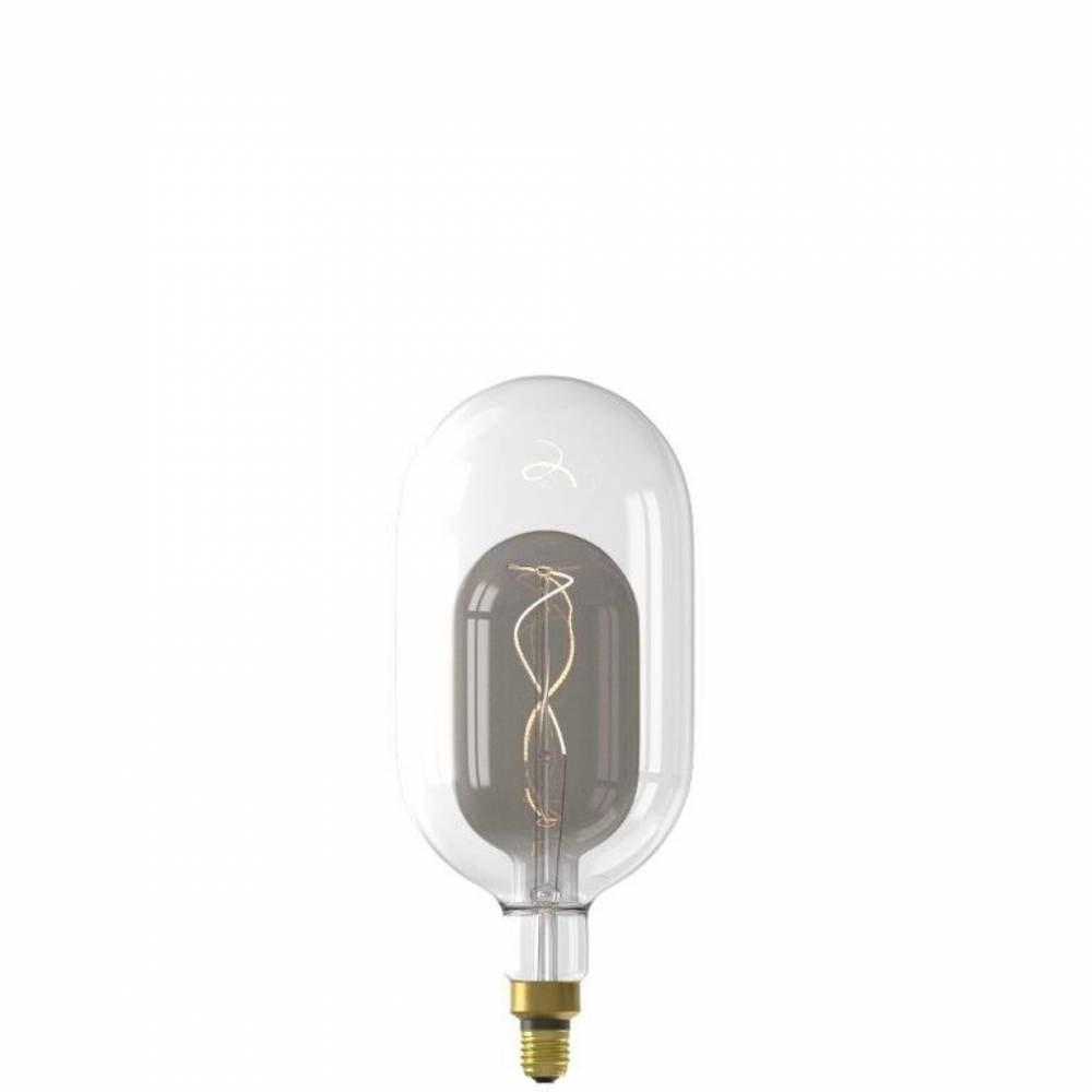 Ampoule décorative fusion led sundsvall filament e27 3w 100lm 2200k - blanc/gris