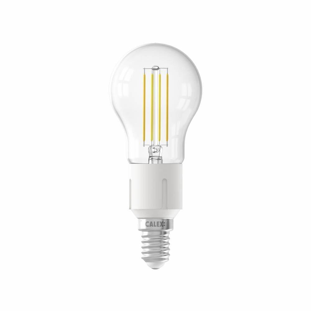 Ampoule Smart LED Filament claire sphérique E14 4,5W 450lm 1800-3000K