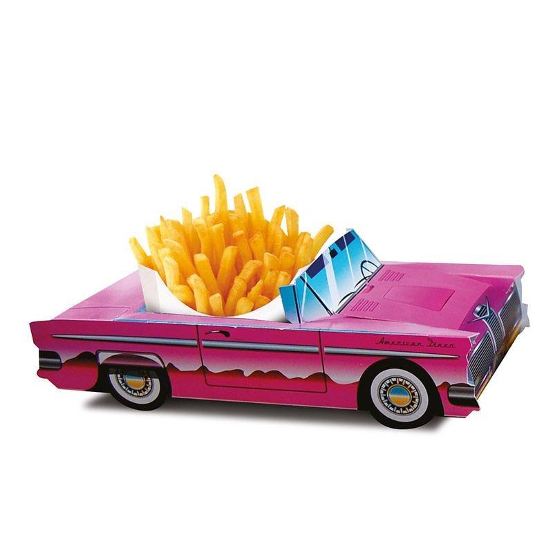 Boîte menu enfant Cadillac Rose - lot de 300