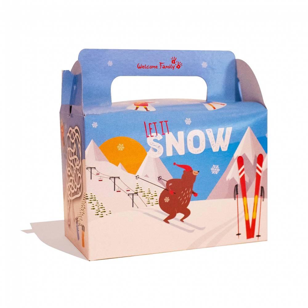 Boîte menu enfant Snow par 300