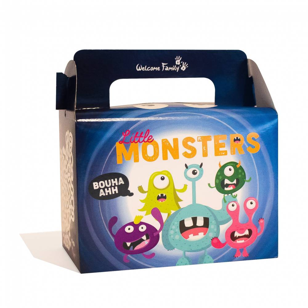 Boîte menu enfant Monstres par 300