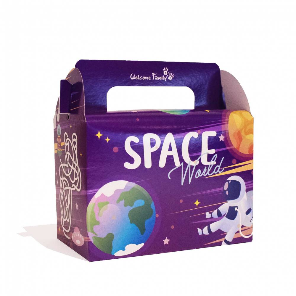 Boîte menu enfant Space par 300