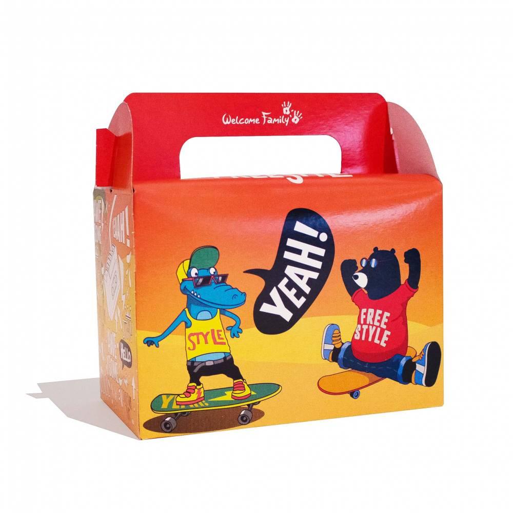 Boîte menu enfant Skate par 300