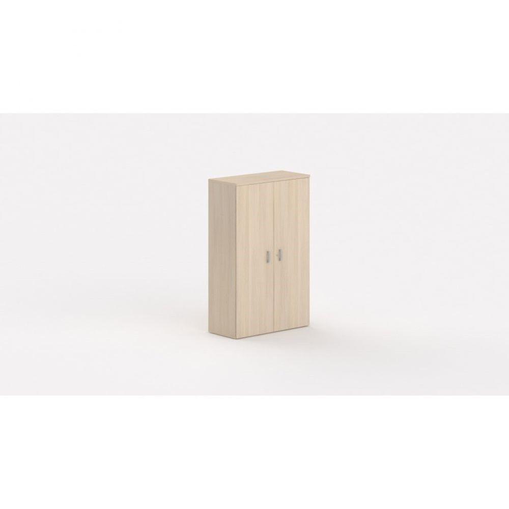 Armoire de bureau contemporaine Opaline / Chêne moyen / Hauteur 159 cm