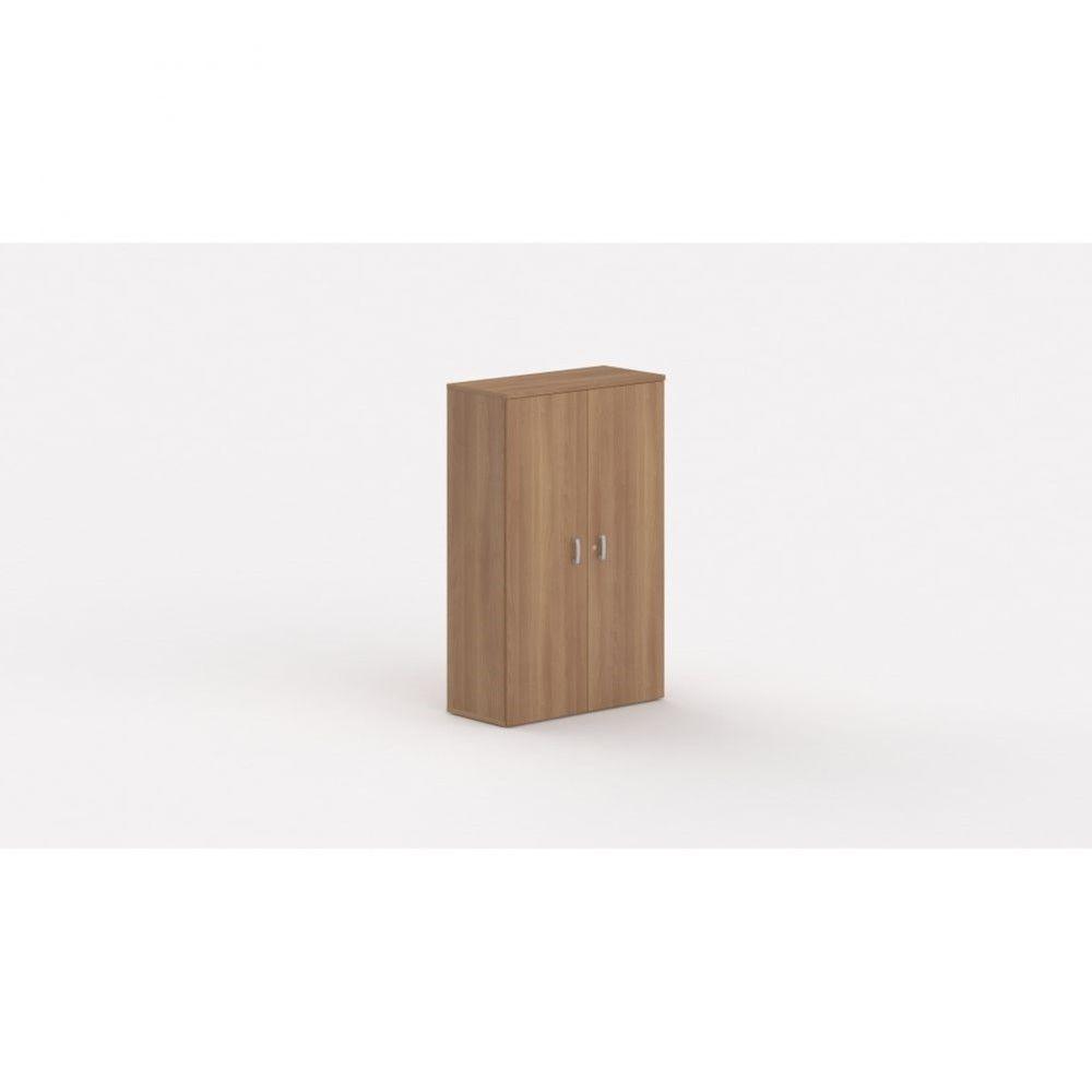 Armoire de bureau contemporaine Opaline / Poirier / Hauteur 159 cm