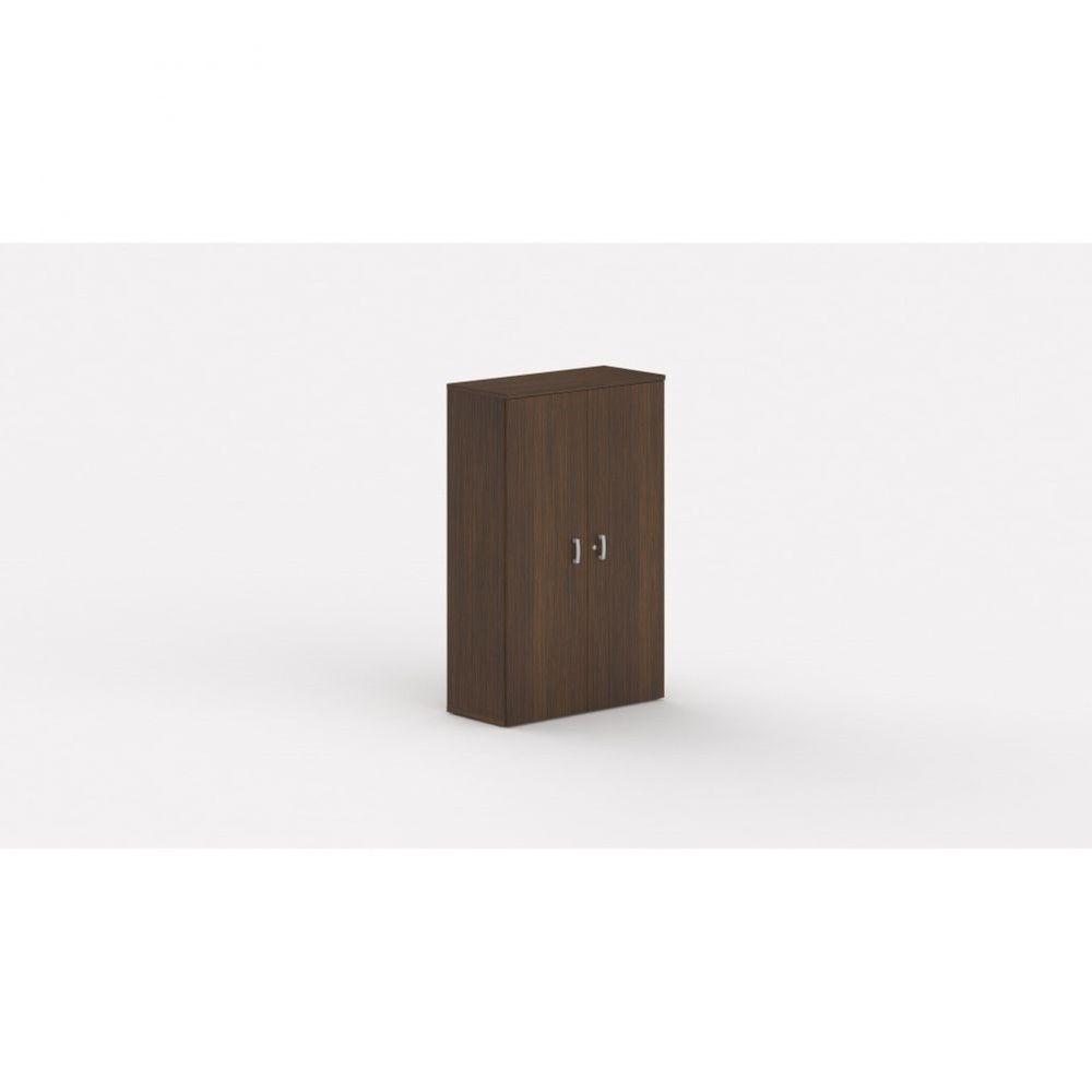 Armoire de bureau contemporaine Opaline / Zebrano / Hauteur 159 cm