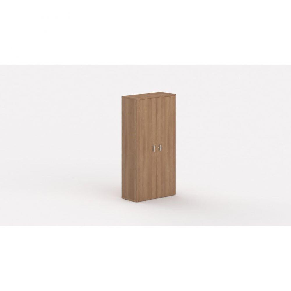 Armoire de bureau contemporaine Opaline / Poirier / Hauteur 197 cm