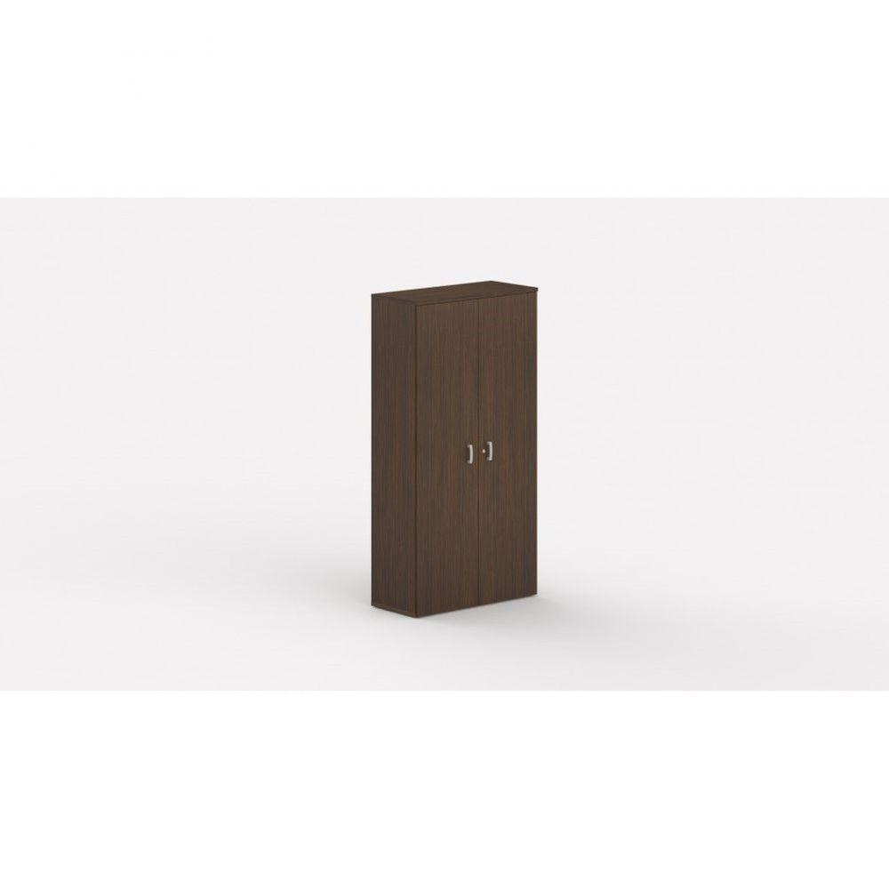Armoire de bureau contemporaine Opaline / Zebrano / Hauteur 197 cm