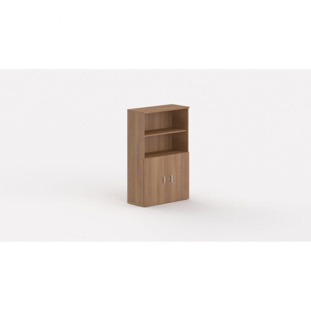 Armoire de bureau contemporaine Opaline I / Poirier / Hauteur 159 cm