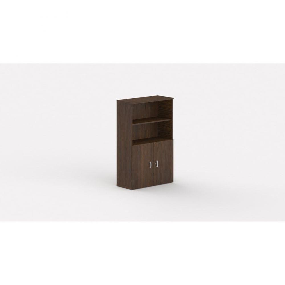 Armoire de bureau contemporaine Opaline I / Zebrano / Hauteur 159 cm