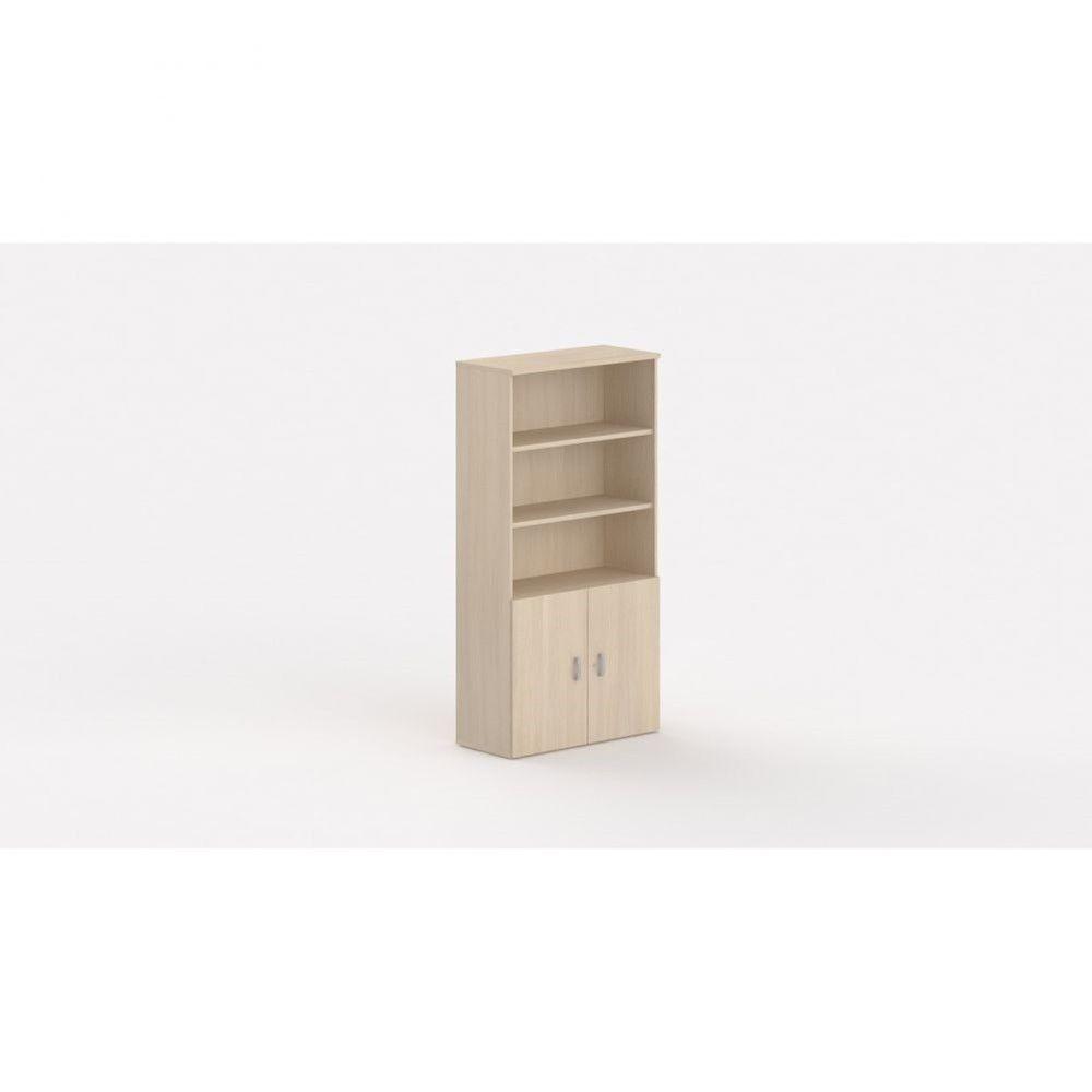 Armoire de bureau contemporaine Opaline I / Chêne moyen / Hauteur 197 cm