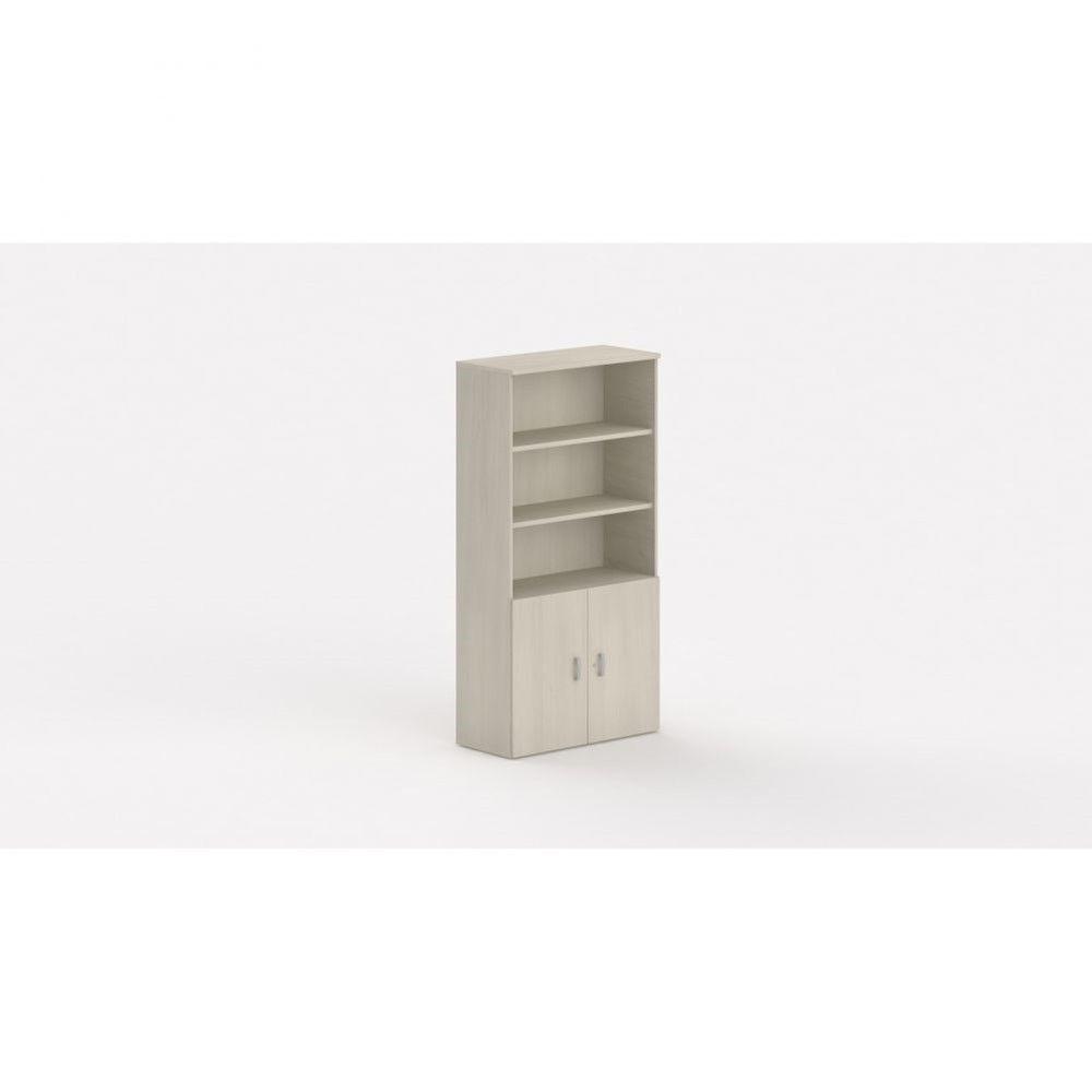 Armoire de bureau contemporaine Opaline I / Acacia clair / Hauteur 197 cm