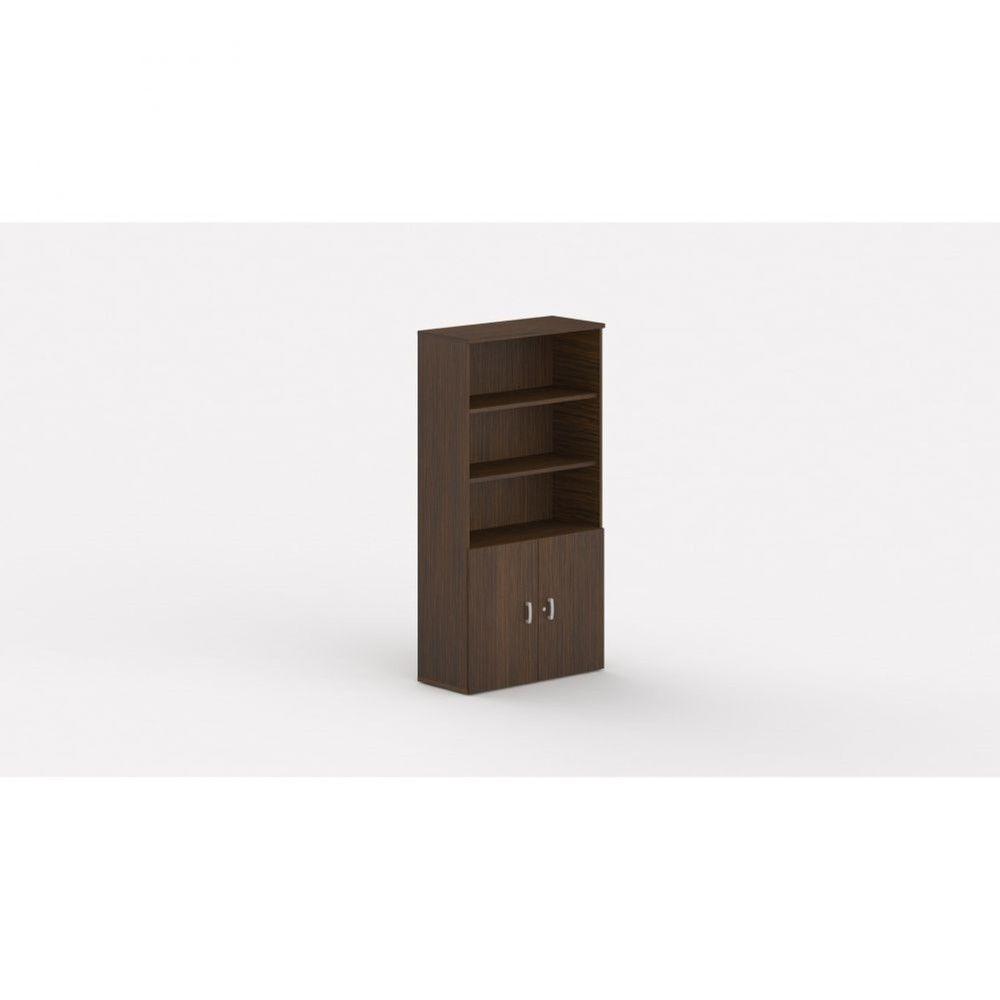 Armoire de bureau contemporaine Opaline I / Zebrano / Hauteur 197 cm