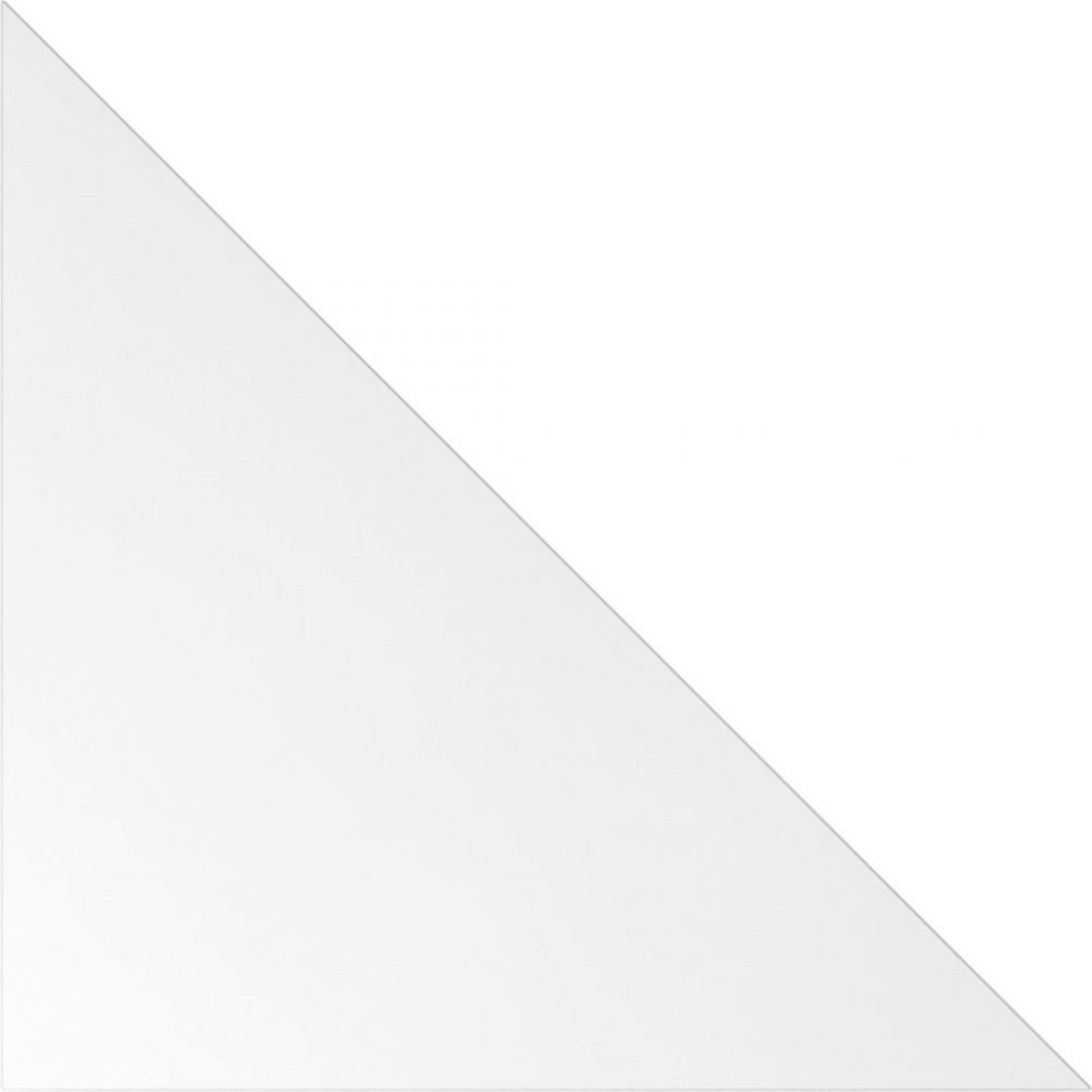 Angle de raccordement pour les bureaux Naomi et Frida / Blanc / Argenté