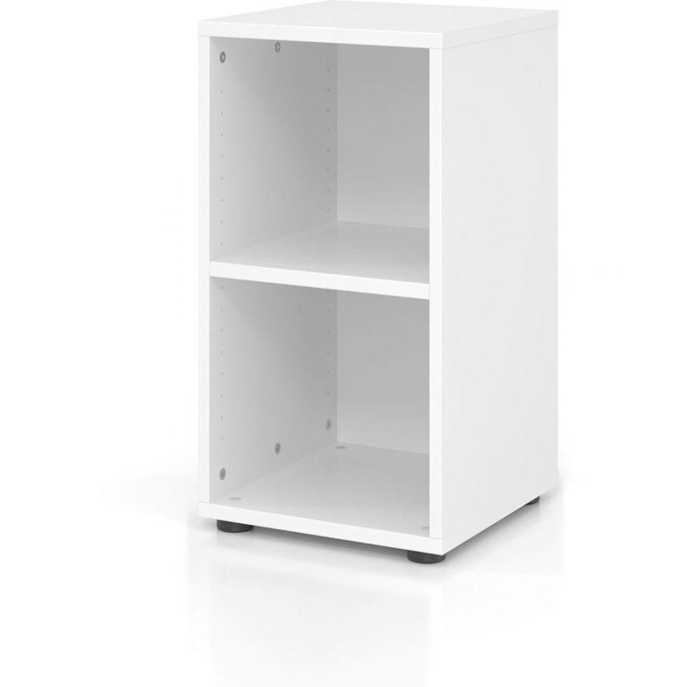 Etagère comtemporaine 40 cm Ezra / Blanc / Hauteur 74,8 cm