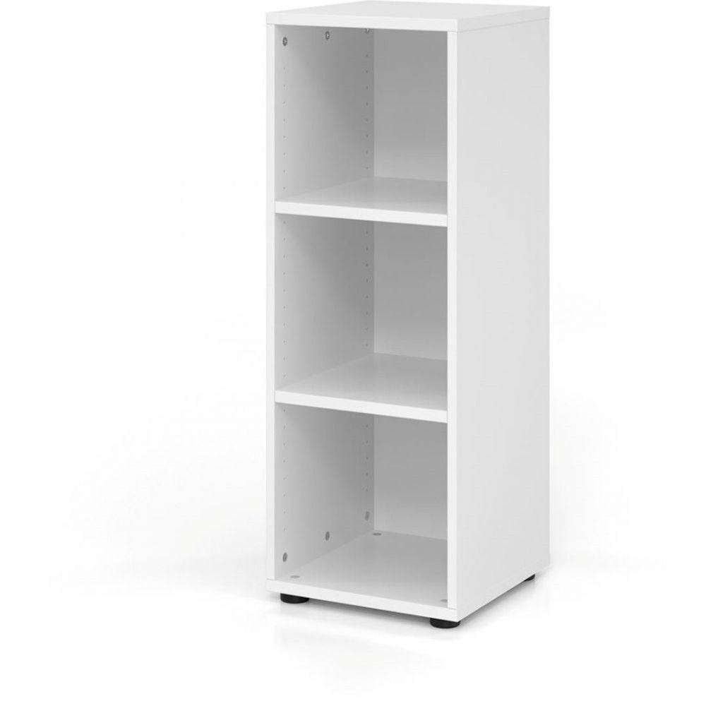 Etagère comtemporaine 40 cm Ezra / Blanc / Hauteur 110 cm