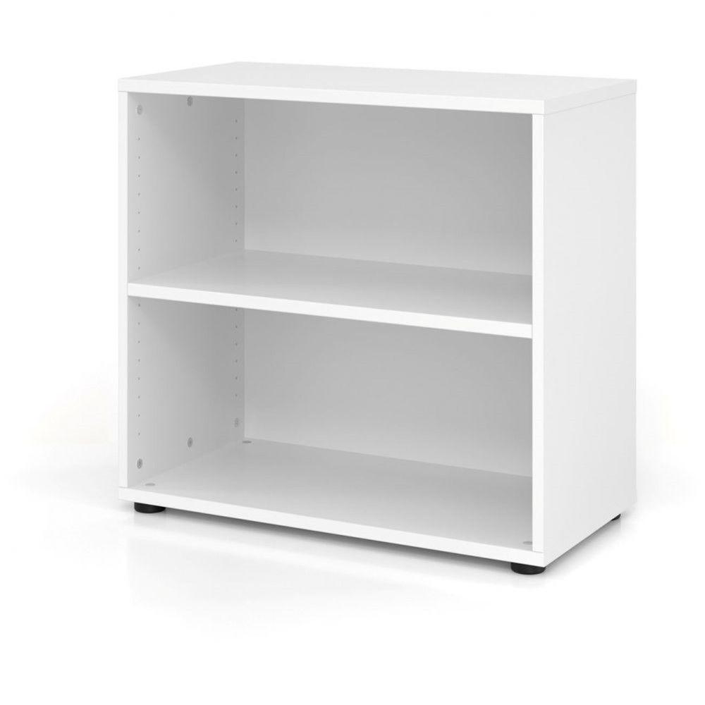 Etagère comtemporaine 80 cm Ezra / Blanc / Hauteur 74,8 cm