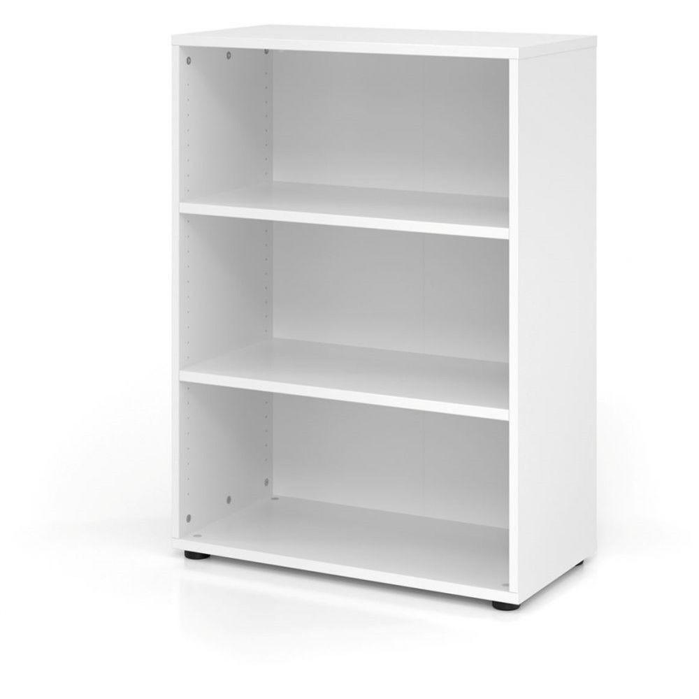 Etagère comtemporaine 80 cm Ezra / Blanc / Hauteur 110 cm
