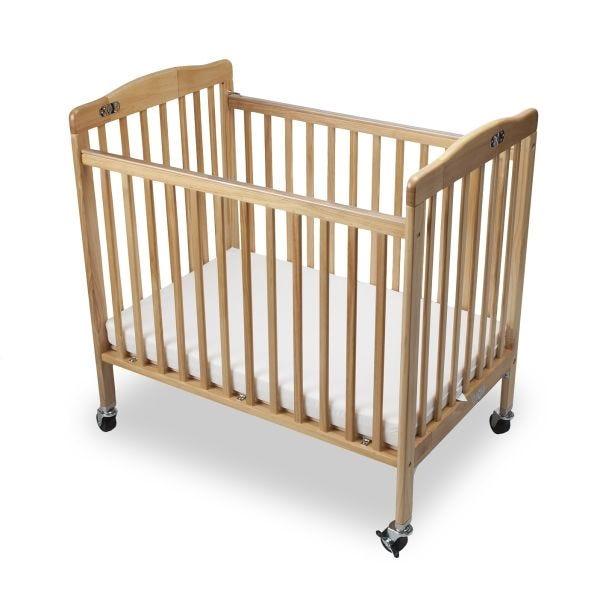 Lit pliant bébé limea hêtre - dimensions : l 101 x l 67 x h 102 cm